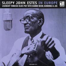 In Europe - CD Audio di Sleepy John Estes