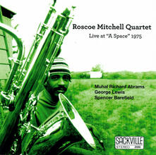 Live at a Space 1975 - CD Audio di Roscoe Mitchell