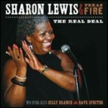 The Real Deal - CD Audio di Sharon Lewis,Texas Fire
