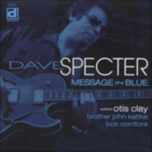 Vinile Message in Blue Dave Specter