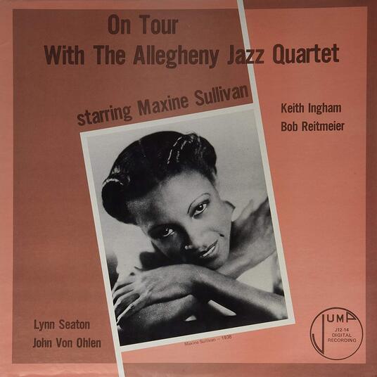 W/Allegheny Jazz Quarter - Vinile LP di Maxine Sullivan