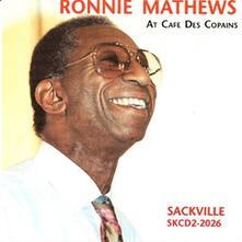 At Cafe De Copains - CD Audio di Ronnie Mathews