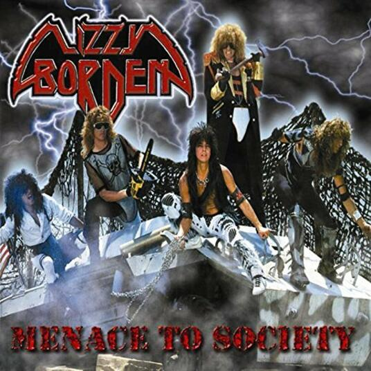 Menace to Society (Blue Vinyl Numbered Limited Edition) - Vinile LP di Lizzy Borden