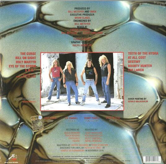 The Curse - Vinile LP di Omen - 2