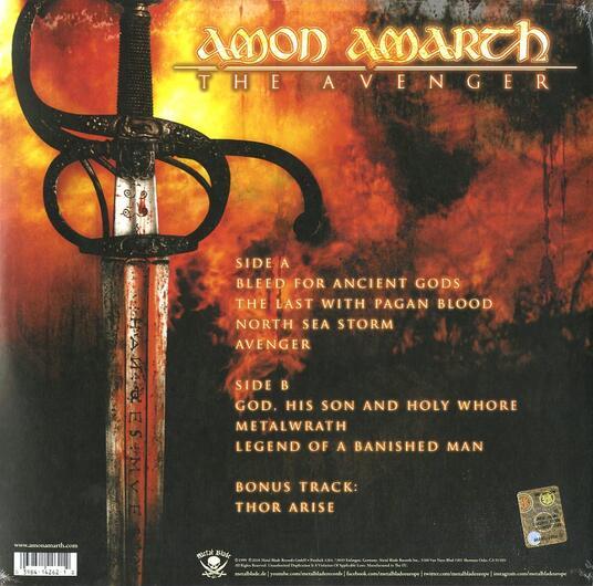 The Avenger (180 gr.) - Vinile LP di Amon Amarth - 2