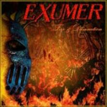 Fire & Damnation - CD Audio di Exumer