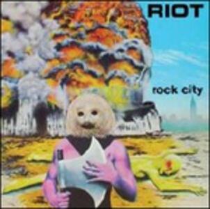 Rock City - Vinile LP di Riot