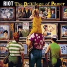 The Privilege of Power (Limited Edition) - Vinile LP di Riot
