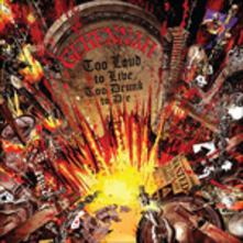 Too Loud to Live, Too Drunk to Die - Vinile LP di Genneah