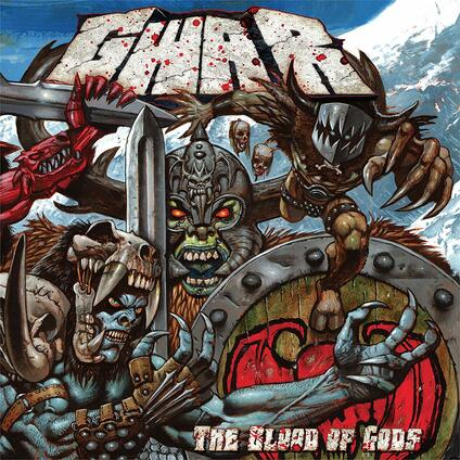 The Blood of Gods (Silver Vinyl Limited Edition) - Vinile LP di Gwar