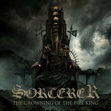 The Crowning of the Fire King (Blue Vinyl Limited Edition) - Vinile LP di Sorcerer