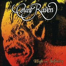 High on Infinity (Orange Vinyl Limited Edition) - Vinile LP di Count Raven