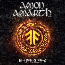 Pursuit Of Vikings: Live At Summer Breeze - Vinile LP di Amon Amarth