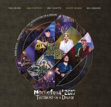 Morsefest 2017. Testimony of a Dream (Deluxe Artbook Set) - CD Audio + DVD + Blu-ray di Neal Morse