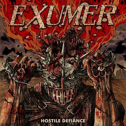 Hostile Defiance (Coloured Vinyl) - Vinile LP di Exumer