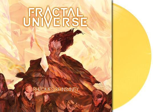 Rhizomes of Insanity (Limited Yellow Coloured Vinyl) - Vinile LP di Fractal Universe