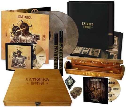Hospodi (Limited Wooden Box Set Edition) - Vinile LP + CD Audio + DVD di Batushka - 2
