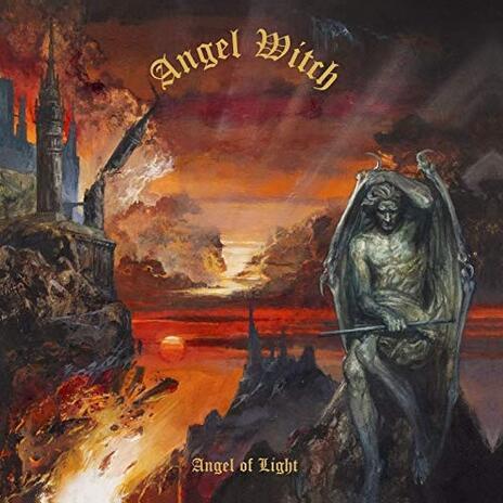 Angel of Light (Orange Coloured Vinyl) - Vinile LP di Angel Witch
