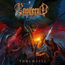Thalassic (Red Black Marble Vinyl) - Vinile LP di Ensiferum