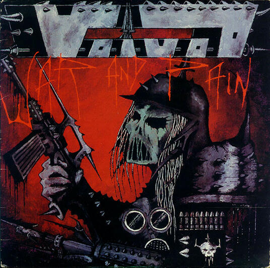 War and Pain (Limited Edition) - Vinile LP di Voivod
