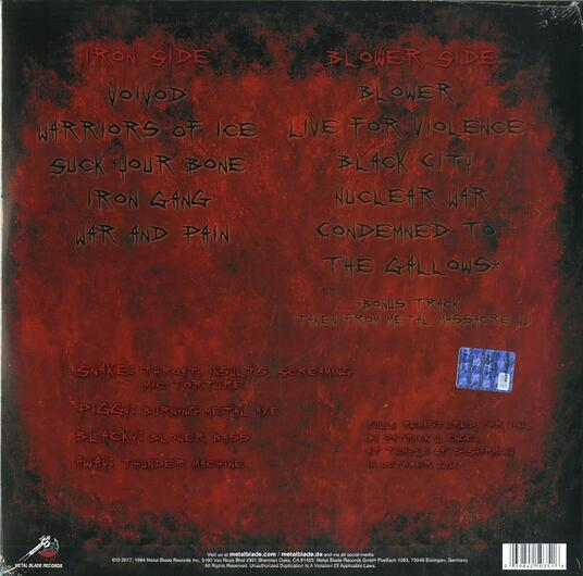 War and Pain (Limited Edition) - Vinile LP di Voivod - 2