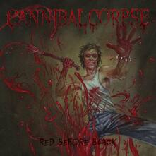 Red Before Black (Jeans-Blue Marbled Vinyl Limited Edition) - Vinile LP di Cannibal Corpse