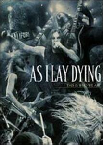 As I Lay Dying. This Is Who We Are (3 DVD) - DVD