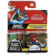 Jakks  57707. Nintendo. Tape Racer Wave 3. Mario With Mushroom Gorge
