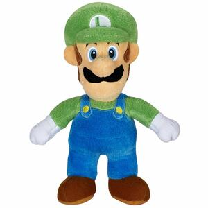 World of Nintendo Plush Figure Luigi 18 cm