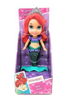 Principesse Disney. Bambolina Mini 7 Cm Ariel Sirenetta. Jakks (70895)