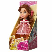 Jakks 84616. Principesse Disney. Bambolina Mini 7 Cm Belle Red Dress
