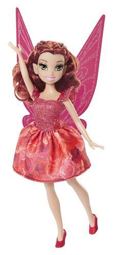 Jakks 95668. Disney Fairies. Classic Fashion Doll 23 Cm Style 2. Rosetta Floral
