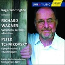 Parsifal / Sinfonia n.6 - CD Audio di Pyotr Ilyich Tchaikovsky,Richard Wagner,Roger Norrington
