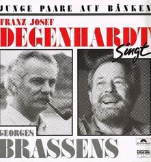 Junge Paare Auf Baenken - CD Audio di Franz Josef Degenhardt
