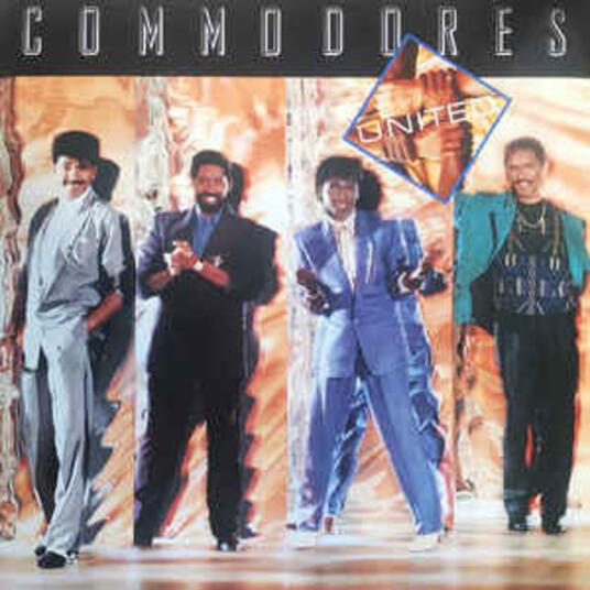 United - Vinile LP di Commodores