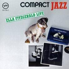 Live - CD Audio di Ella Fitzgerald