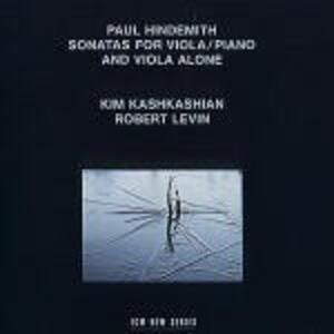 Sonate per viola e pianoforte - Vinile LP di Paul Hindemith,Kim Kashkashian,Robert Levin
