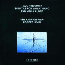 Sonate per viola e pianoforte - CD Audio di Paul Hindemith,Kim Kashkashian,Robert Levin