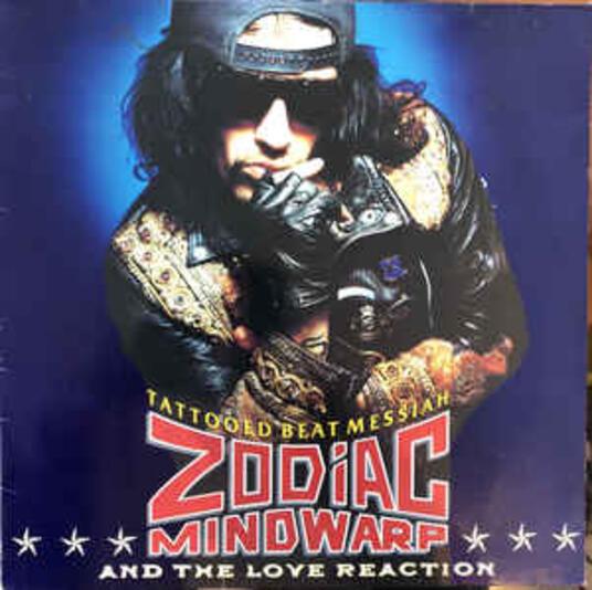Tattooed Beat Messiah - Vinile LP di Zodiac Mindwarp & the Love Reaction
