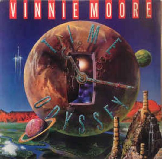 Time Odyssey - Vinile LP di Vinnie Moore