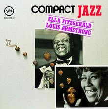 Compact Jazz - CD Audio di Louis Armstrong,Ella Fitzgerald