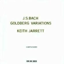 Variazioni Goldberg - CD Audio di Johann Sebastian Bach,Keith Jarrett