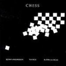 Chess (Colonna Sonora) - CD Audio di Björn Ulvaeus,Benny Andersson