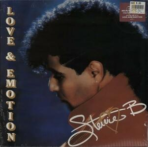 Love and Emotion - Vinile LP di Stevie B