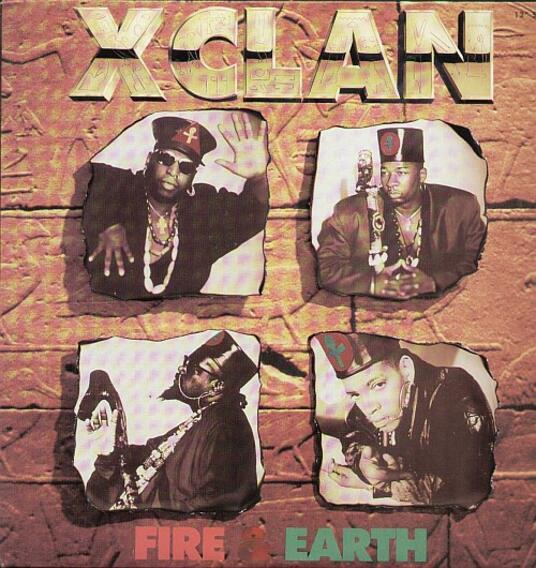 Fire & Earth - Vinile 10'' di X-Clan