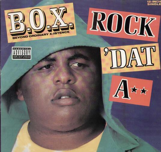 Rock Dat A** - Vinile 10'' di Box