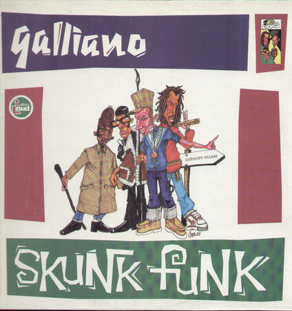 Skunk Funk - Vinile 10'' di Galliano
