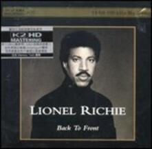 Back to Front - XRCD di Lionel Richie