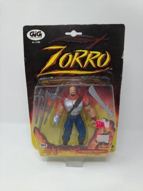 Zorro. Il Malvagio Machete. Personaggio Snodabile da Collezione con Accessori
