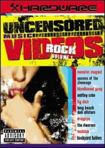 Hardware. Rock Uncensored Music Videos - DVD